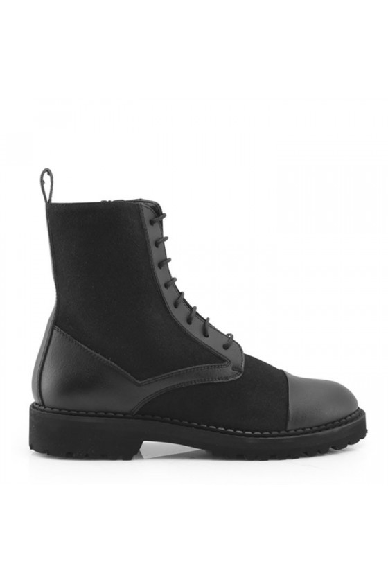 Vegan lined ankle boot Bettina